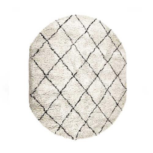 Vloerkleed Rox ovaal 200x300cm - Natural