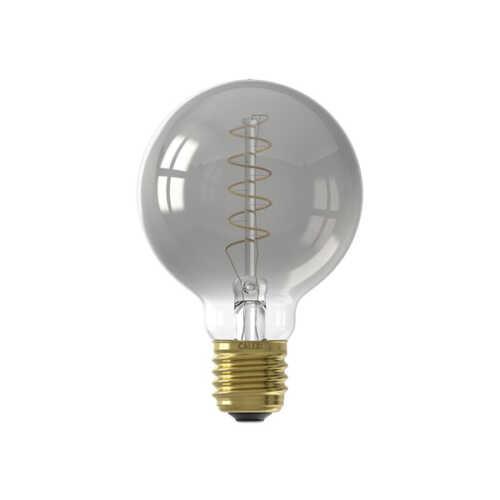 CALEX LED Globelamp 4W Titanium 80mm