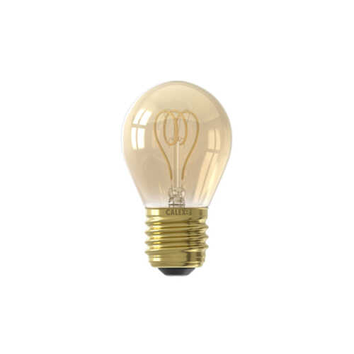 CALEX LED Kogellamp E27 4W Goud