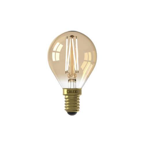 CALEX LED Kogellamp E14 3.5W Goud