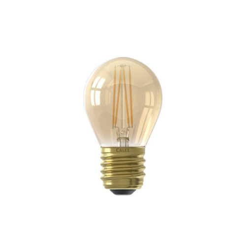 CALEX LED Kogellamp E27 3.5W Goud