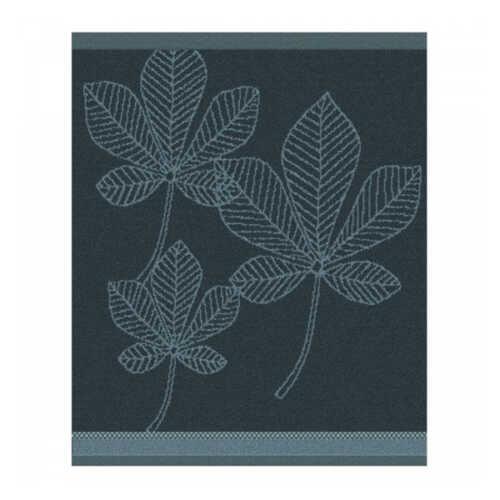 DDDDD Keukendoek Leaves 50x55cm - Atlantic Blauw