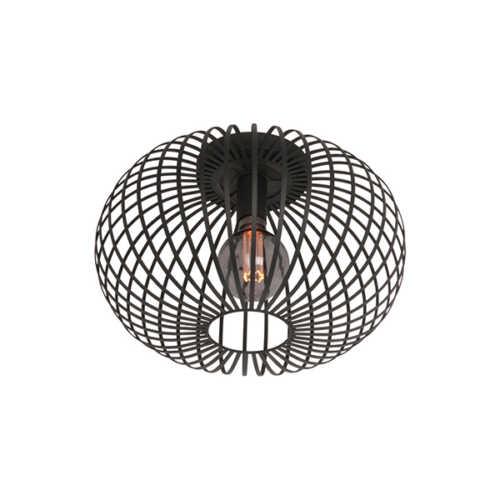 Plafondlamp Aglio 33cm - Zwart