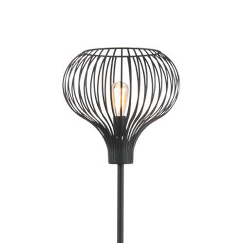 Vloerlamp Aglio - Zwart