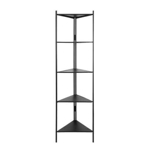 Open kast DISPLAY 200cm - Zwart