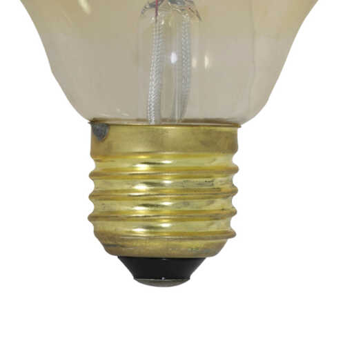 Lichtbron LED buis/staaf 3x14,5cm 4W amber E27 dimbaar