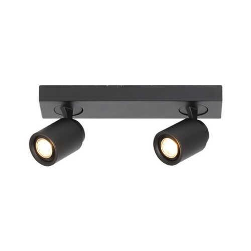 2-lichts Spot balk Razza - Zwart